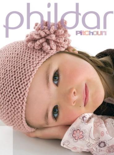 modèle tricot bonnet fleur