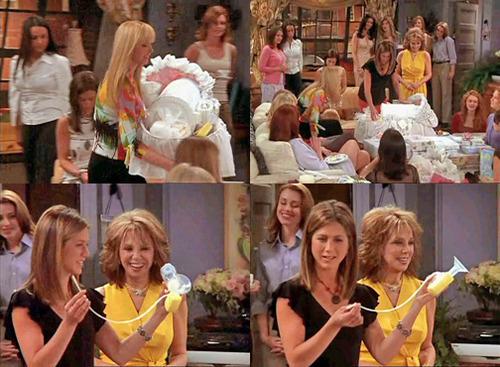 baby shower Rachel Green