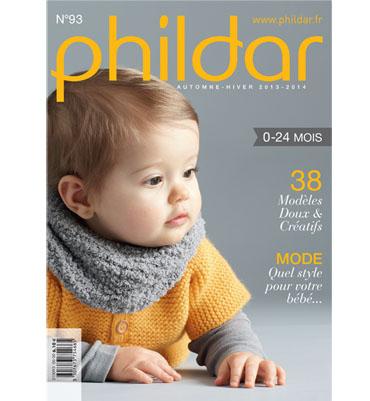 Catalogue Phildar Layette n93