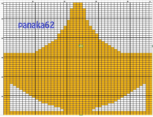 Diagramme Renard en tricot 02