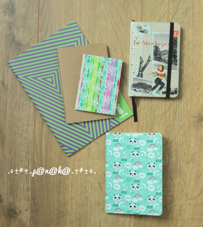 Mon Materiel creatif - les carnets panaka62 (2)